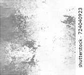 abstract halftone background... | Shutterstock .eps vector #724040923