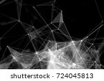 abstract technology and future... | Shutterstock . vector #724045813