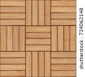 wooden planks background ... | Shutterstock .eps vector #724062148