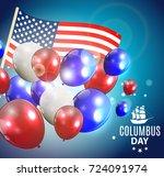 vector illustration of columbus ...   Shutterstock .eps vector #724091974