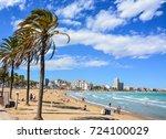 pe iscola   spain  september 15 ... | Shutterstock . vector #724100029