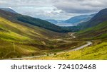 view of loch maree from glen... | Shutterstock . vector #724102468