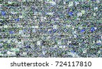 glitch background. computer... | Shutterstock .eps vector #724117810