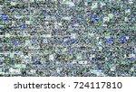 glitch background. computer... | Shutterstock .eps vector #724117810