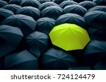 different  unique and standing... | Shutterstock . vector #724124479