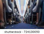 passengers traveling by a new... | Shutterstock . vector #724130050