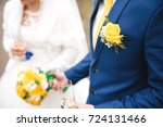 couple in love holding a yellow ... | Shutterstock . vector #724131466