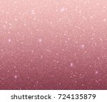 Stock vector rose gold glitter background with sequins 724135879