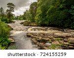 Falls Of River Dochart In Loch...