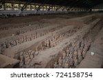 xian  china   may 11  2017  ...   Shutterstock . vector #724158754
