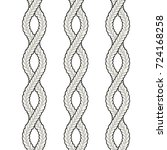 fashion elements  cross rib... | Shutterstock .eps vector #724168258