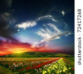 Stock photo beauty of colorful nature 72417268