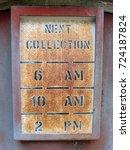 vintage signage | Shutterstock . vector #724187824