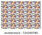 pattern design | Shutterstock .eps vector #724240780