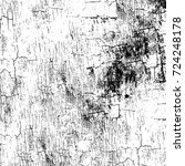 grunge black and white texture. ... | Shutterstock .eps vector #724248178