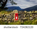 Postbox In A Dry Stonewall Wit...