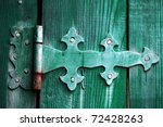 Beautiful Ancient Door Bolt On...