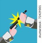 crime | Shutterstock . vector #72429301