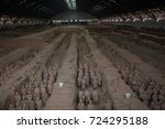 xian  china   may 11  2017  ...   Shutterstock . vector #724295188