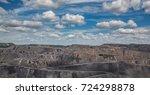 coal mine  view. mine. mining | Shutterstock . vector #724298878