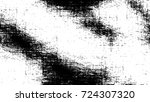 black white seamless grunge... | Shutterstock .eps vector #724307320
