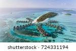 amazing bird eyes view in...   Shutterstock . vector #724331194