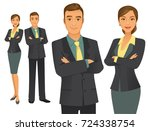 business team | Shutterstock .eps vector #724338754