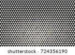 dark black vector geometric... | Shutterstock .eps vector #724356190