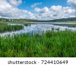 RSPB Leighton Moss view from the causeway hide