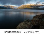 mount elbert  colorado's... | Shutterstock . vector #724418794