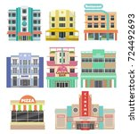 Set Of Buildings On Miami Beac...