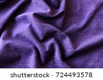 Purple Background Of Soft...