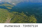 amazing forest landscape | Shutterstock . vector #724507114
