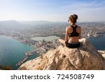 spain.2017 year. august 20 .... | Shutterstock . vector #724508749