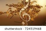 3d rendering of a musical... | Shutterstock . vector #724519468