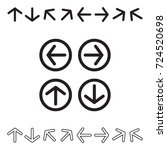 decorative arrow icon set...