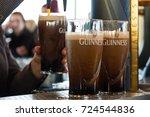 dublin  ireland   feb 15  2014  ... | Shutterstock . vector #724544836