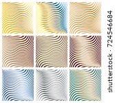 set of the nine swirling