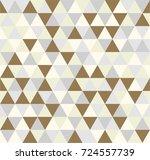 retro triangle repeating... | Shutterstock .eps vector #724557739