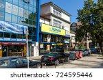 burgas  bulgaria   august 20 ... | Shutterstock . vector #724595446