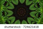 Kaleidoscope Background With...