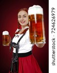 bavarian people  | Shutterstock . vector #724626979