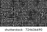 black white seamless grunge... | Shutterstock .eps vector #724636690
