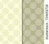 Olive Green Floral Backgrounds...