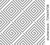 light gray geometric ornament....   Shutterstock .eps vector #724654738