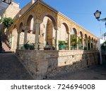 mojacar  almeria  spain  | Shutterstock . vector #724694008