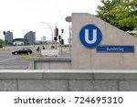 berlin  germany   june 16  2015 ... | Shutterstock . vector #724695310