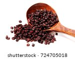 schisandra on white background | Shutterstock . vector #724705018