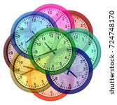 Time Zone Clocks And World...