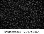 natural black coals for...   Shutterstock . vector #724753564